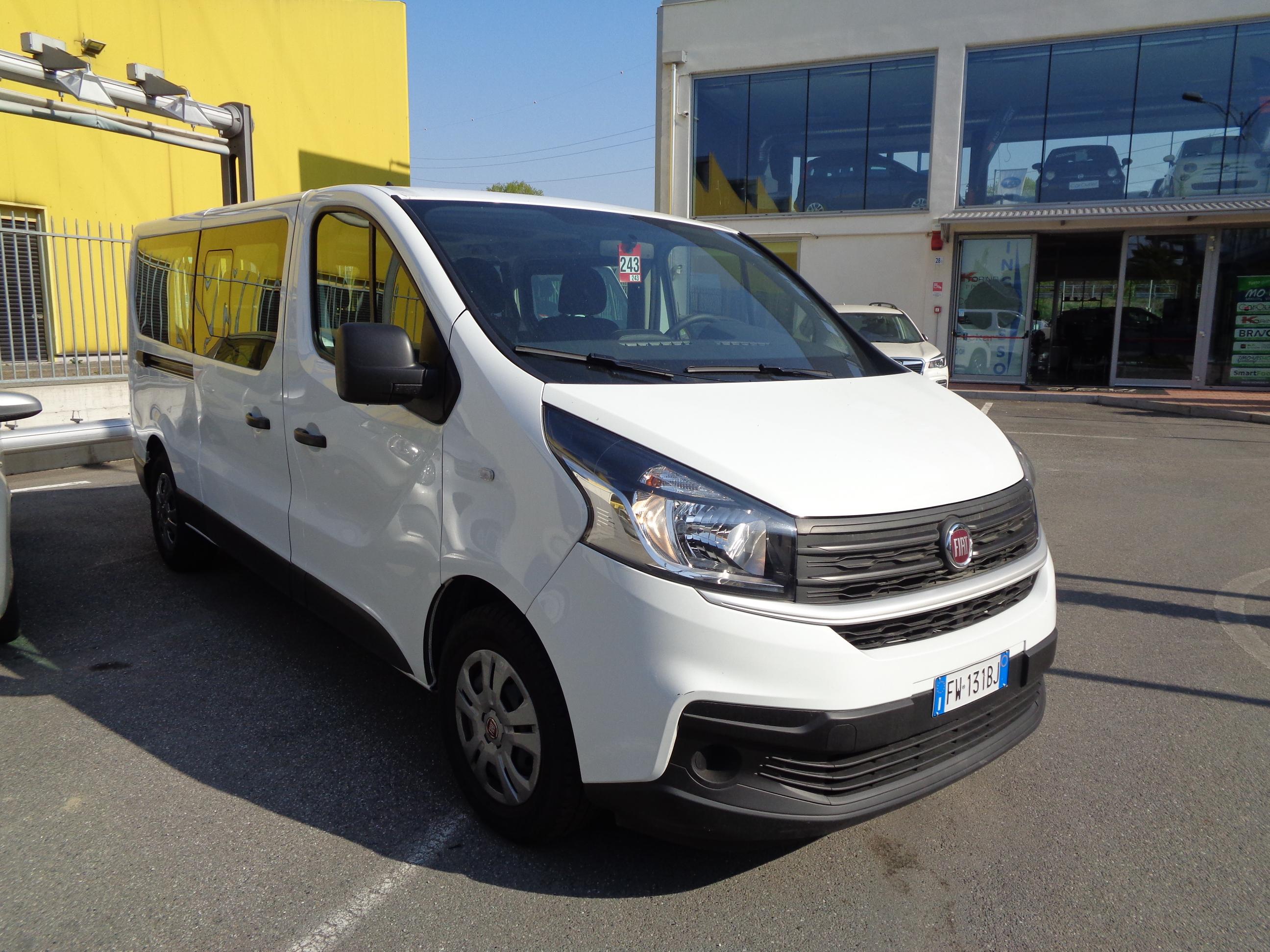 FIAT Talento 1.6 MJT 120CV PL-TN Combi 12q (9 posti) Diesel usata