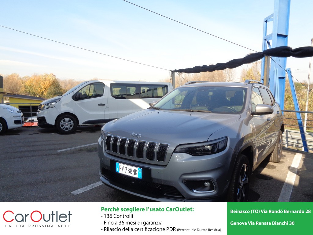 JEEP Cherokee 2.2 Mjt AWD Active Drive I Limited Diesel usata