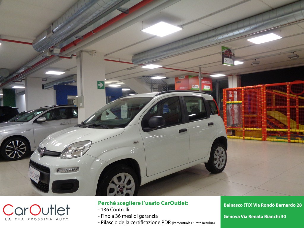 FIAT Panda 0.9 TwinAir Turbo Natural Power Easy Metano usata