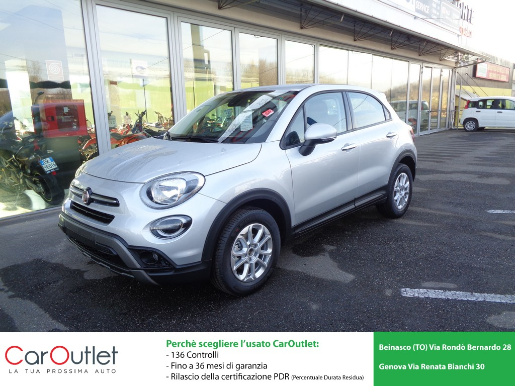 FIAT 500X 1.0 T3 120 CV City Cross Benzina usata