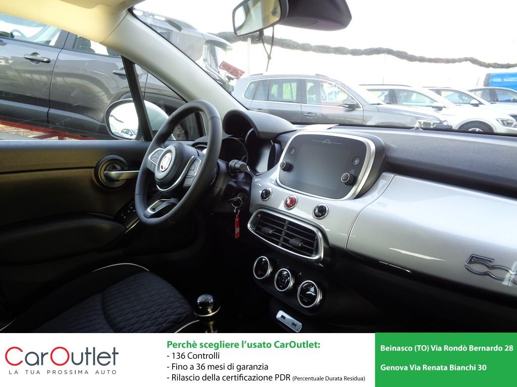 FIAT 500X 1.0 T3 120 CV City Cross Benzina usata - 8