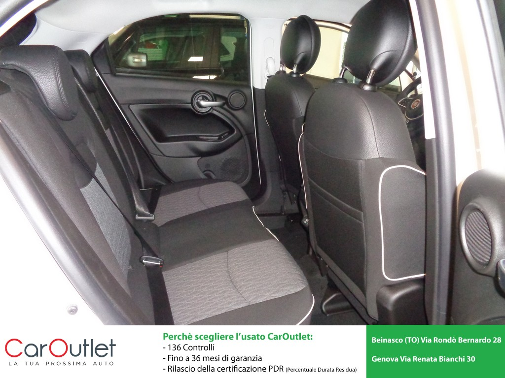 FIAT 500X 1.0 T3 120 CV City Cross Benzina usata - 9