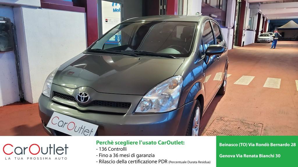 TOYOTA Corolla Verso 2.2 16V D-4D D-Cat Diesel usata