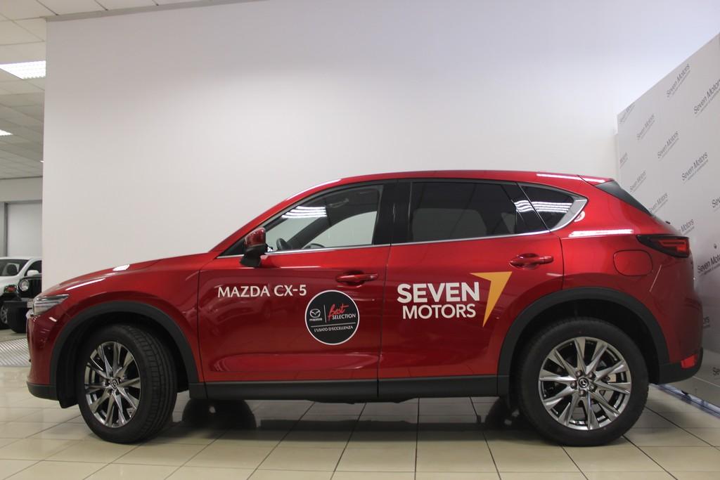 MAZDA CX-5 2.2L Skyactiv-D 184CV AWD Signature AT Diesel usata - 9