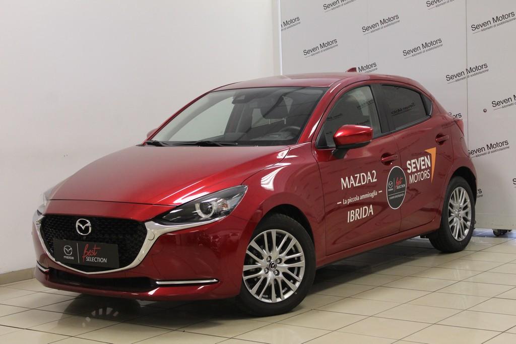 MAZDA Mazda2 1.5 90 CV Skyactiv-G M-Hybrid Exceed IBRIDO usata