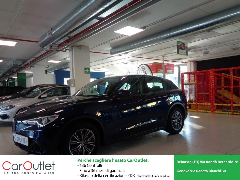 ALFA Stelvio 2.2 Turbodiesel 180 CV AT8 Q4 Executive Diesel usata