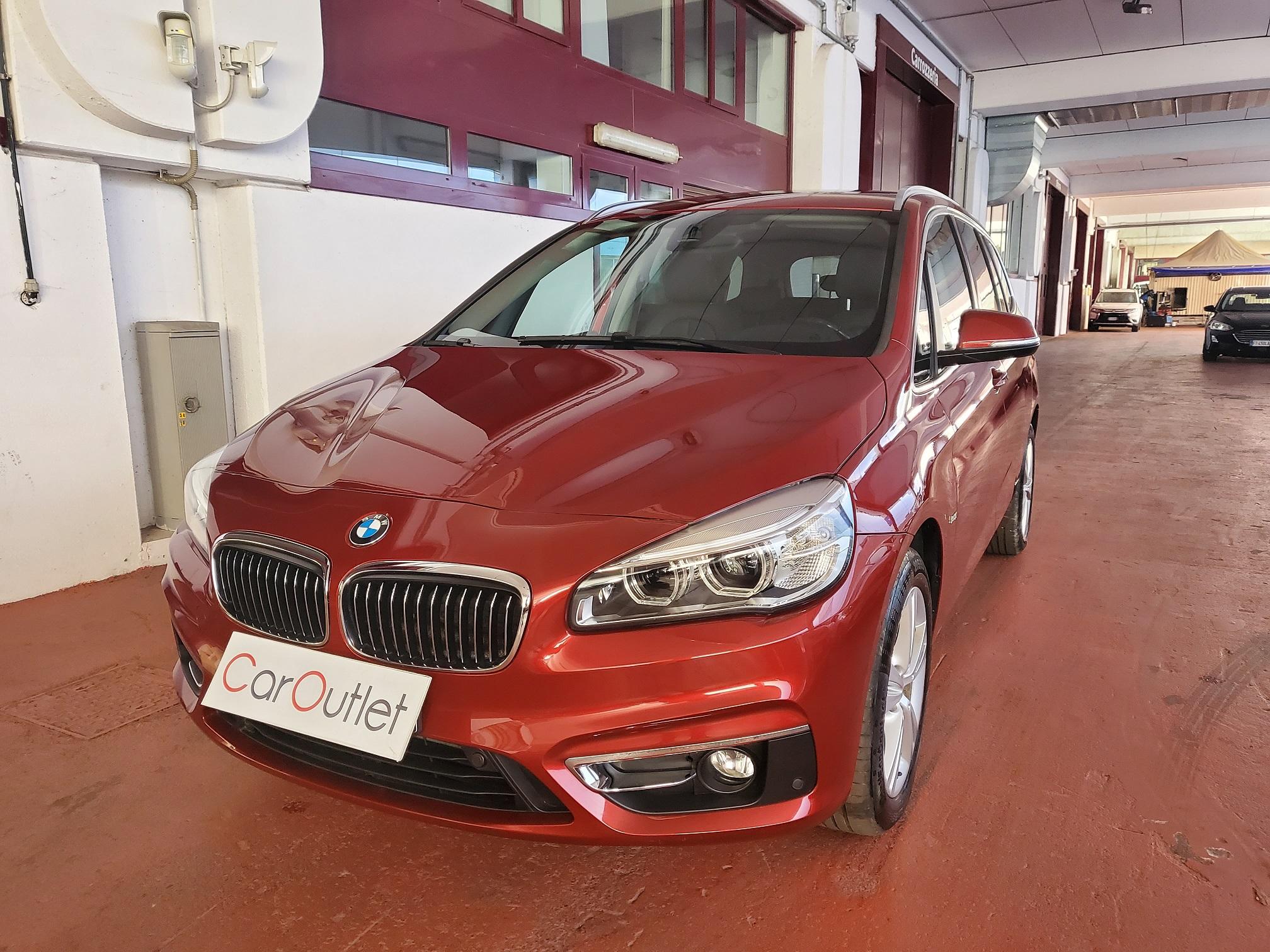 BMW 218d Gran Tourer Luxury Diesel usata